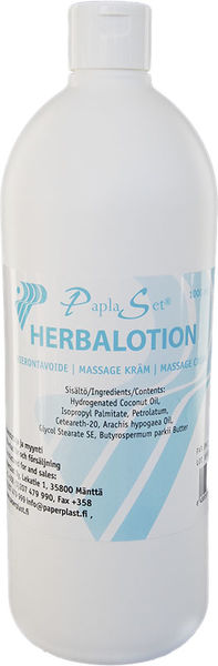 Paplaset Herbalotion Cream 1 ltr